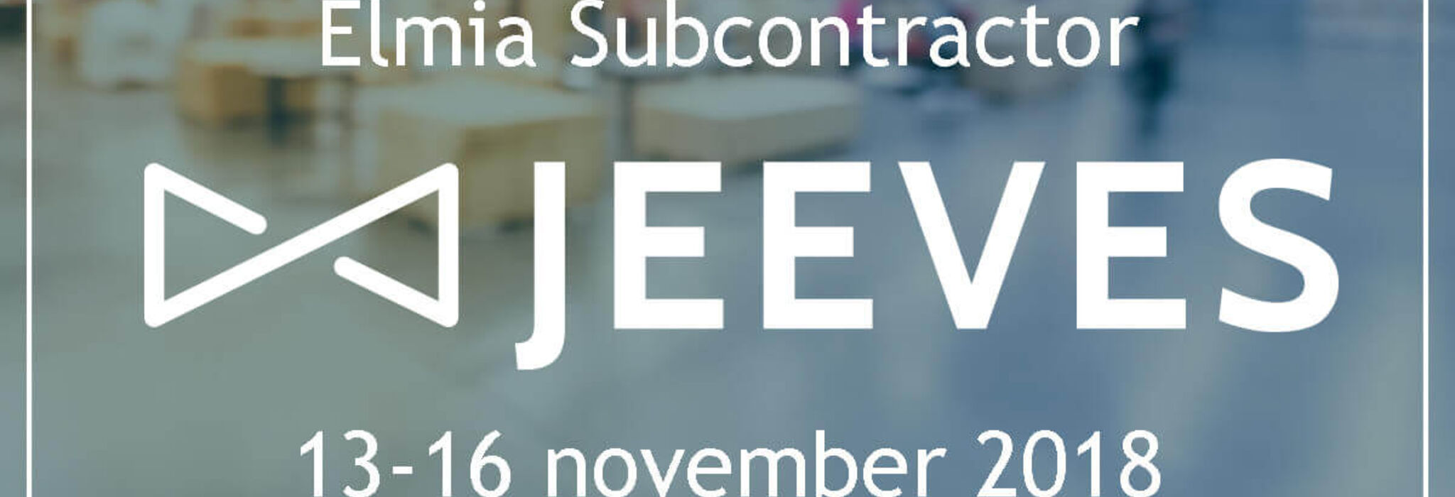 Jeeves ERP på Elmia Subcontractor